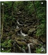 Peaceful Cascade Acrylic Print