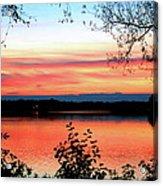Peaceful Evening Acrylic Print