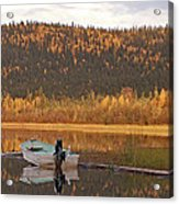 Peaceful Harding Lake Acrylic Print