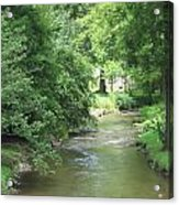 Peaceful Mountain Stream Acrylic Print