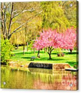Peaceful Spring II Acrylic Print