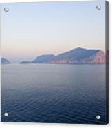 Peaceful Waters In Golfo Aranci, Sardinia Acrylic Print