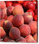 Peaches And Nectarines Acrylic Print