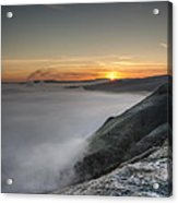 Peak District Sunrise Acrylic Print by Andy Astbury