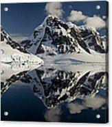 Peaks Along  Neumayer Channel Acrylic Print