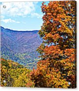 Peaks And Colors Acrylic Print
