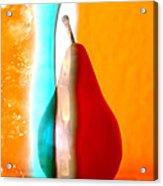 Pear On Ice 01 Acrylic Print