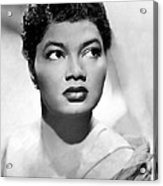 Pearl Bailey, Portrait Ca. 1952 Acrylic Print by Everett