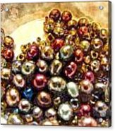 Pearls In A Pile  Art Acrylic Print