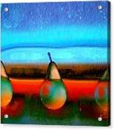 Pears On Ice 01 Acrylic Print