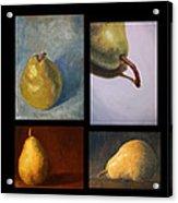 Pears The Series Acrylic Print