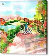 Peavine Trail Prescott Arizona Acrylic Print by Sharon Mick