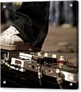 Pedals Acrylic Print