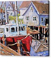 Peggy S Cove 02 By Prankearts Acrylic Print