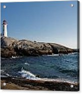 Peggy's Cove Light Acrylic Print