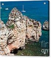 Peidades Coast Portugal Acrylic Print