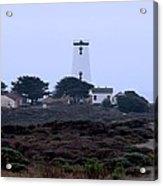Peidras Blancas Lighthouse Acrylic Print