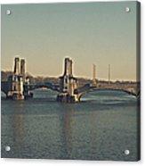 Pelham Bridge - Fade Acrylic Print