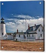 Pemaquid Point Lighthouse 4800 Acrylic Print