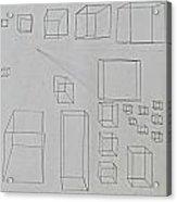 Pencil 10-15 Acrylic Print
