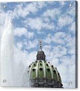 Pennsylvania Capital Acrylic Print