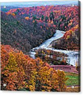 Pennsylvania Color Acrylic Print