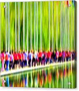 People Walking In The City-1 Acrylic Print