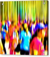 People Walking In The City-4 Acrylic Print