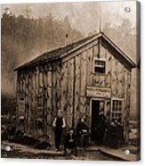 Peoples Petroleum Co., In 1865. With Acrylic Print
