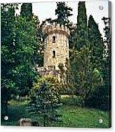 Pepperpot Tower At Powerscourt Acrylic Print