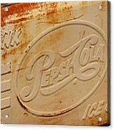 Pepsi Cola Remembered Acrylic Print