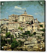 Perched Village Of Gordes Acrylic Print