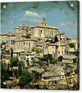 Perched Village Of Gordes Acrylic Print