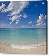 Perfect Beach Day With Blue Skies Acrylic Print