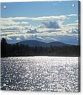 Perfect Day On The Lake Acrylic Print