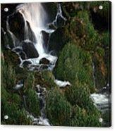 Perfect Fall Of Nature Acrylic Print