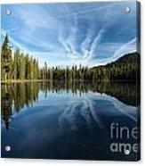 Perfect Reflection Acrylic Print