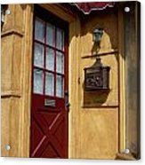 Perfectly Paletted Doorway Acrylic Print