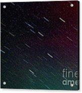 Perseid Meteor Shower Acrylic Print by Thomas R Fletcher