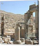 Persepolis Color Acrylic Print by Tia Anderson-Esguerra