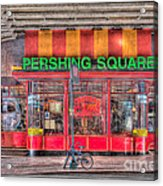 Pershing Square Central Cafe I Acrylic Print