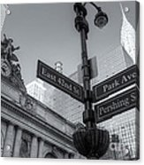 Pershing Square Skyline II Acrylic Print