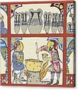 Persian Pharmacy, 13th Century Artwork Acrylic Print