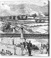 Peru: Chilean Army, 1881 Acrylic Print