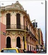 Peruvian Streets Acrylic Print