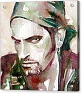 Peter Steele Portrait.6 Acrylic Print