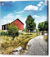 Peter Stuckey Farm Acrylic Print