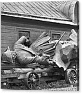 Peter The Great, Resting On A Wagon Acrylic Print by Maynard Owen Williams