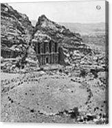 Petra, Jordan Acrylic Print by Photo Researchers
