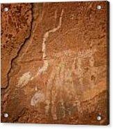 Petroglyph Iv Acrylic Print